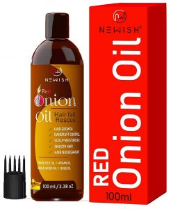 Newish Red Onion Hair Oil