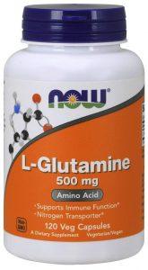 Now Foods Glutamine Supplements