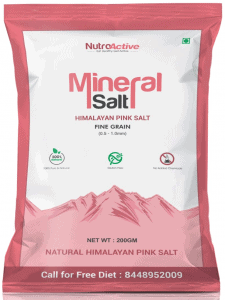 NutroActive Mineral Himalayan Pink Rock Salt