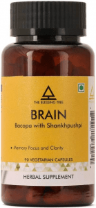 The Blessing Tree Brain Supplement with Bacopa
