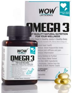 WOW Omega3 Fish oil brands