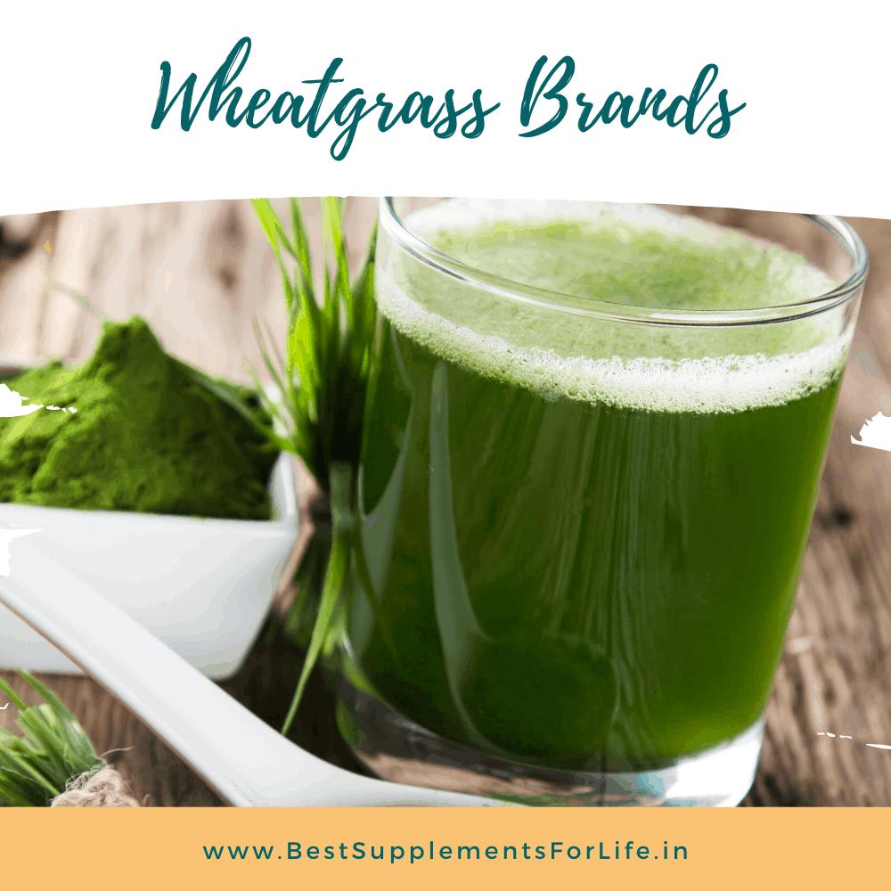 Best Wheatgrass Brands in India