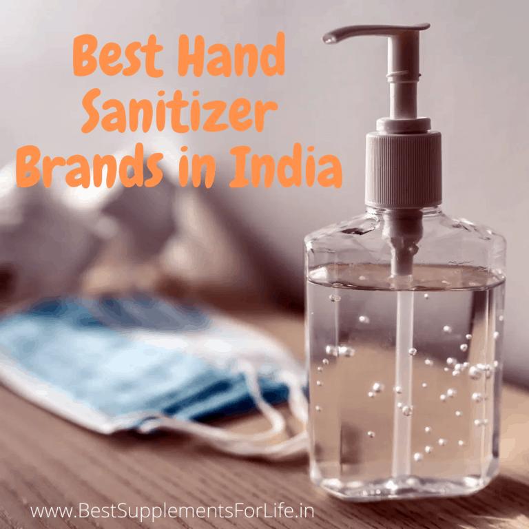 Best Hand Sanitizer Brands in India