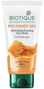 Biotique Bio Honey Gel Refreshing Foaming Face