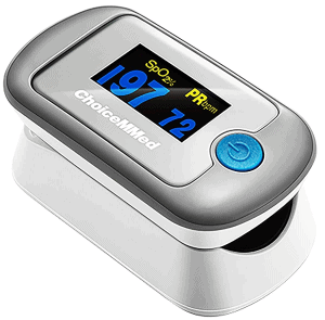 Choicemmed Dual Color OLED Finger Tip Pulse Oximeter
