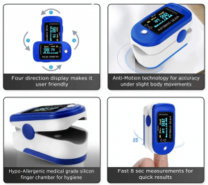 DR VAKUD Pulse Oximeter