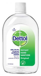 Dettol Original Germ Protection Alcohol based Hand Sanitizer