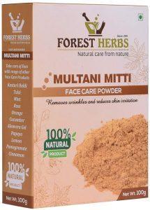 Forest Herbs 100% Natural Multani Mitti Powder