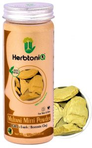 HerbtoniQ 100% Natural Multani Mitti Powder
