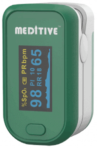 MEDITIVE Fingertip Pulse Oxygen Monitor