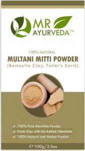 MR Ayurveda 100% Organic Multani Mitti