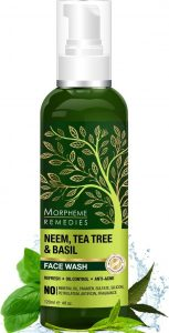 Morpheme Remedies Neem, Tea Tree & Basil Face Wash For Oil Control