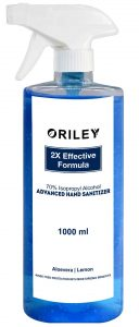 ORILEY Instant Hand Sanitizer