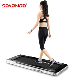 Sparnod Fitness STH-3000 Series (4 HP Peak) 2 in 1 Foldable Treadmill