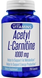 We Like Vitamins Pure Acetyl L-Carnitine