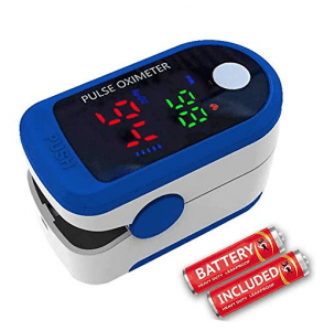 Wembley Oximeter Digital Finger Pulse Full Screen Oxygen Meter