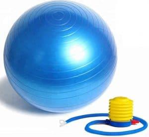 Bhajan® Anti-Slip Exercise Gym Ball 65cm with Pump