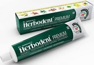 Dr. Jaikaran's Herbodent Premium Herbal Toothpaste