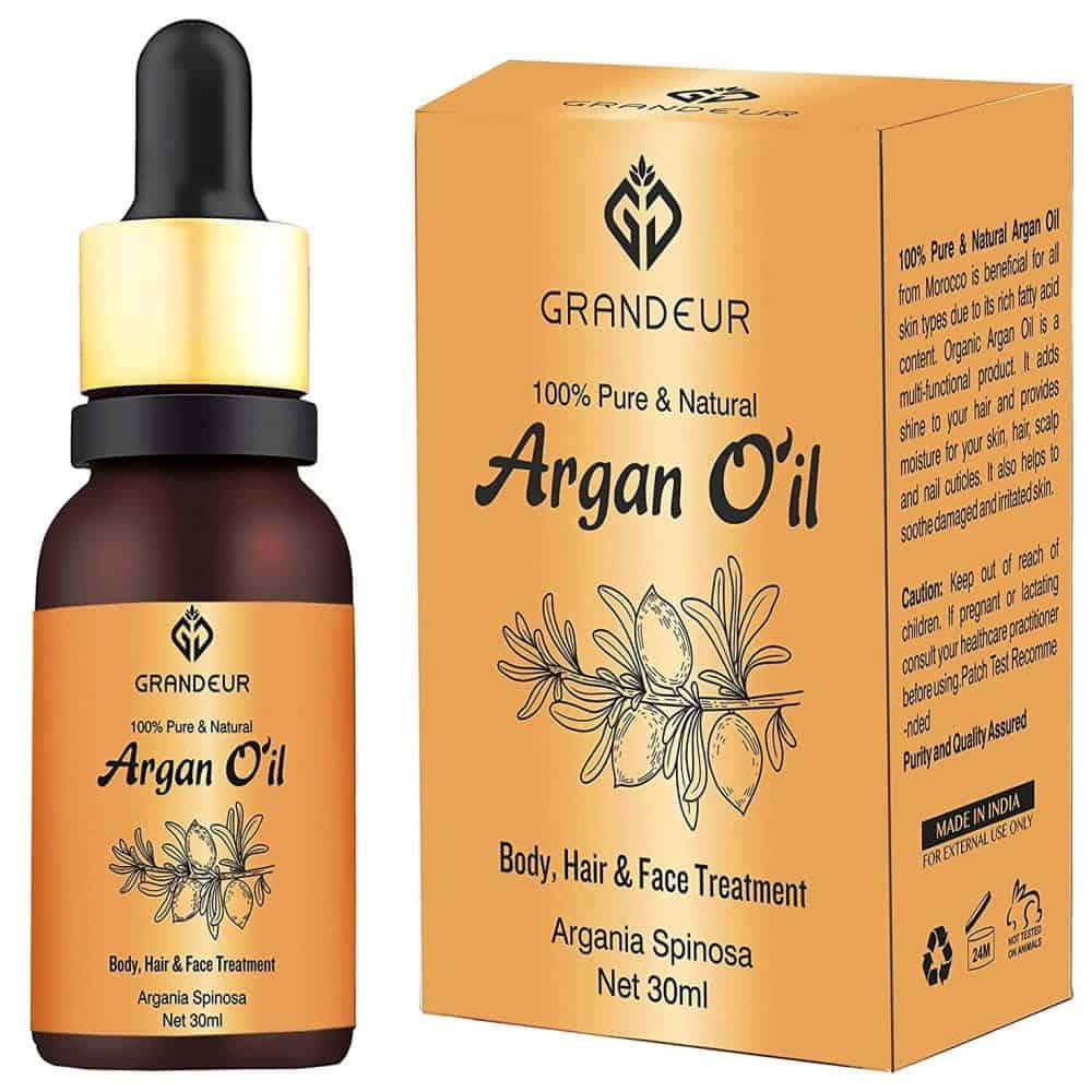 Grandeur 100% Pure & Natural Moroccan Argan Oil