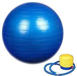 HEMJEX Exercise Gym Ball 65cm with Pump