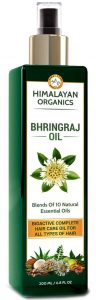 Himalayan Organics Bhringraj Oil for Hair Growth