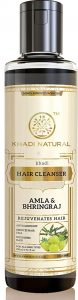 Khadi Herbal Ayurvedic Amla and Bhringraj Hair Cleanser(Shampoo)