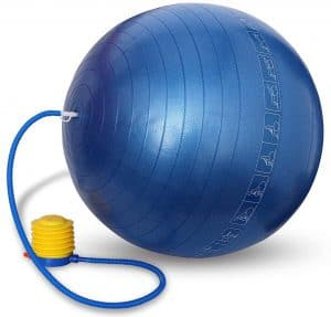 Nivia Anti Burst Gym Ball, 65cm