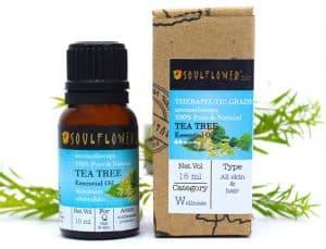 Soulflower Tea Tree Essential Oil,