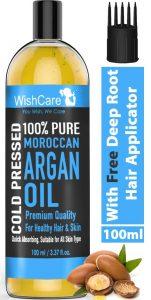 WishCare® 100% Pure Cold Pressed & Natural Moroccan Argan Oil