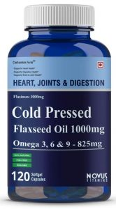 Carbamide Forte Cold Pressed Organic Flaxseed Oil