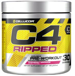 Cellucor Pre-Workout C4 Ripped Energy Supplement