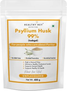 HealthyHey Nutrition Psyllium Fibre Supplements