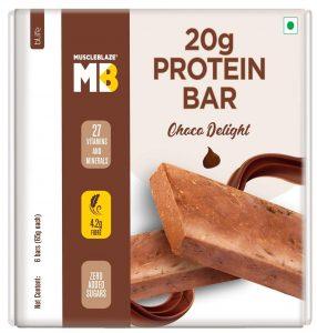 MuscleBlaze Protein Bar