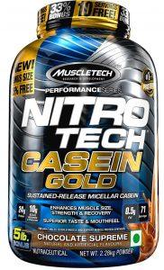 Muscletech Performance Series Nitrotech Casein Gold