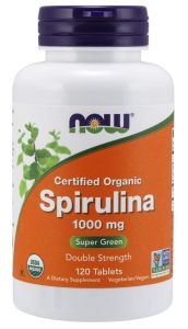 Now Foods, Certified Organic, Spirulina