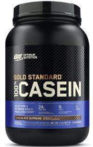 Optimum Nutrition (ON) Gold Standard 100% Casein Protein Powder