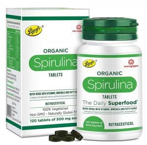 Parry Wellness Organic Spirulina Tablets