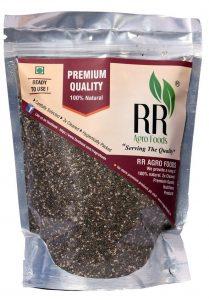 R R AGRO FOODS Organic Premium Chia Seeds