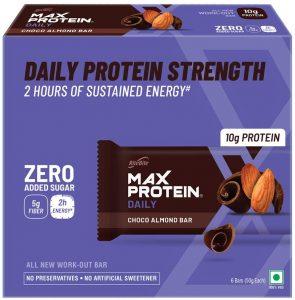 Ritebite Max Protein Daily Choco Almond Bars