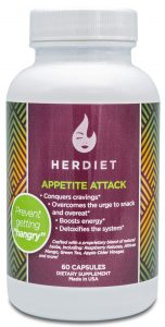 HERdiet Appetite Attack for Women Extra Strength Supplement with Appetite Suppressant Pills