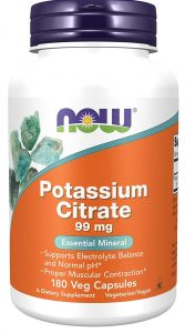 Now Foods, Potassium Citrate Capsules