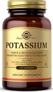 Solgar Potassium Tablets, 250 Count