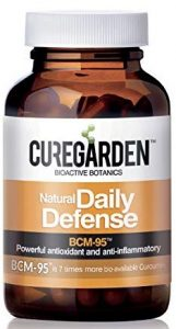 CureGarden Daily Defense Capsule With Turmeric Curcumin Extract Supplement