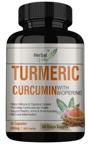 HerbalValley Turmeric Curcumin Supplements