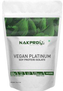 NAKPRO Vegan Soy Protein Isolate