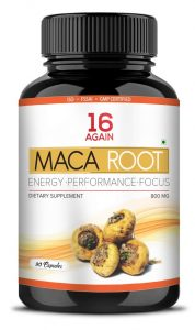 16 Again Maca Root Extract Dietary Supplement