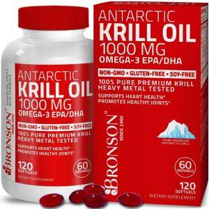 Bronson Vitamins Antarctic Krill Oilwith Astaxanthin