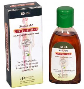 Diabport Healthcare Nerveheed Herbal Pain Relief Oil for Nerve and Joint Aches