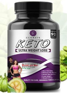 G-GLOWSIK Keto Capsules Ultra Weight Loss Fat Burner Supplement