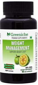 Greeniche Weight Management Natural and Herbal Garcinia Cambogia Extract